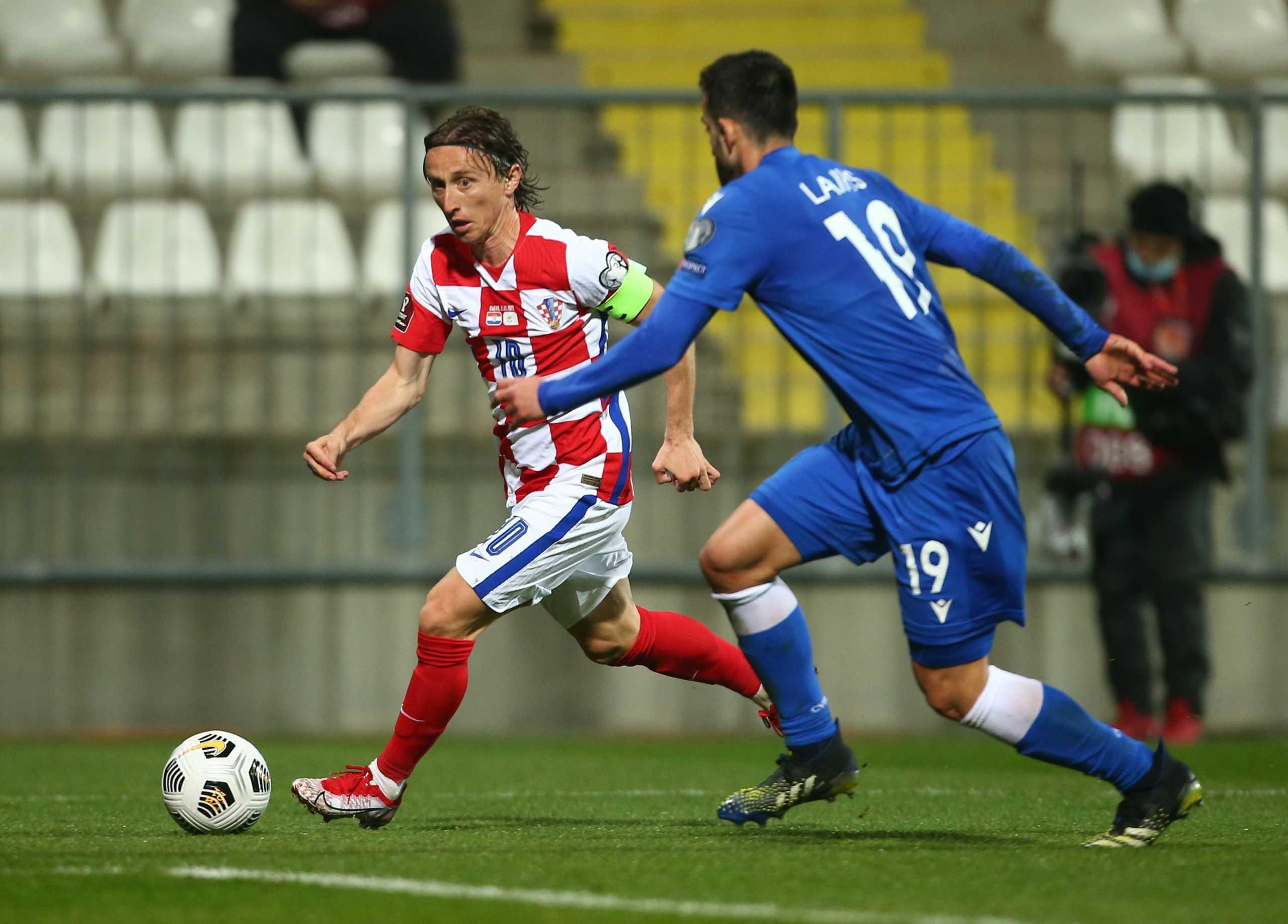 Προκριματικά Μουντιάλ: «Πάλεψε» η Κύπρος – Νίκη για Κροατία σε ιστορική βραδιά για Μόντριτς (video)