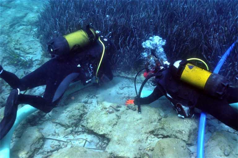 Αρχαίος Ολούντας: Εντυπωσιακές εικόνες από την υποβρύχια έρευνα
