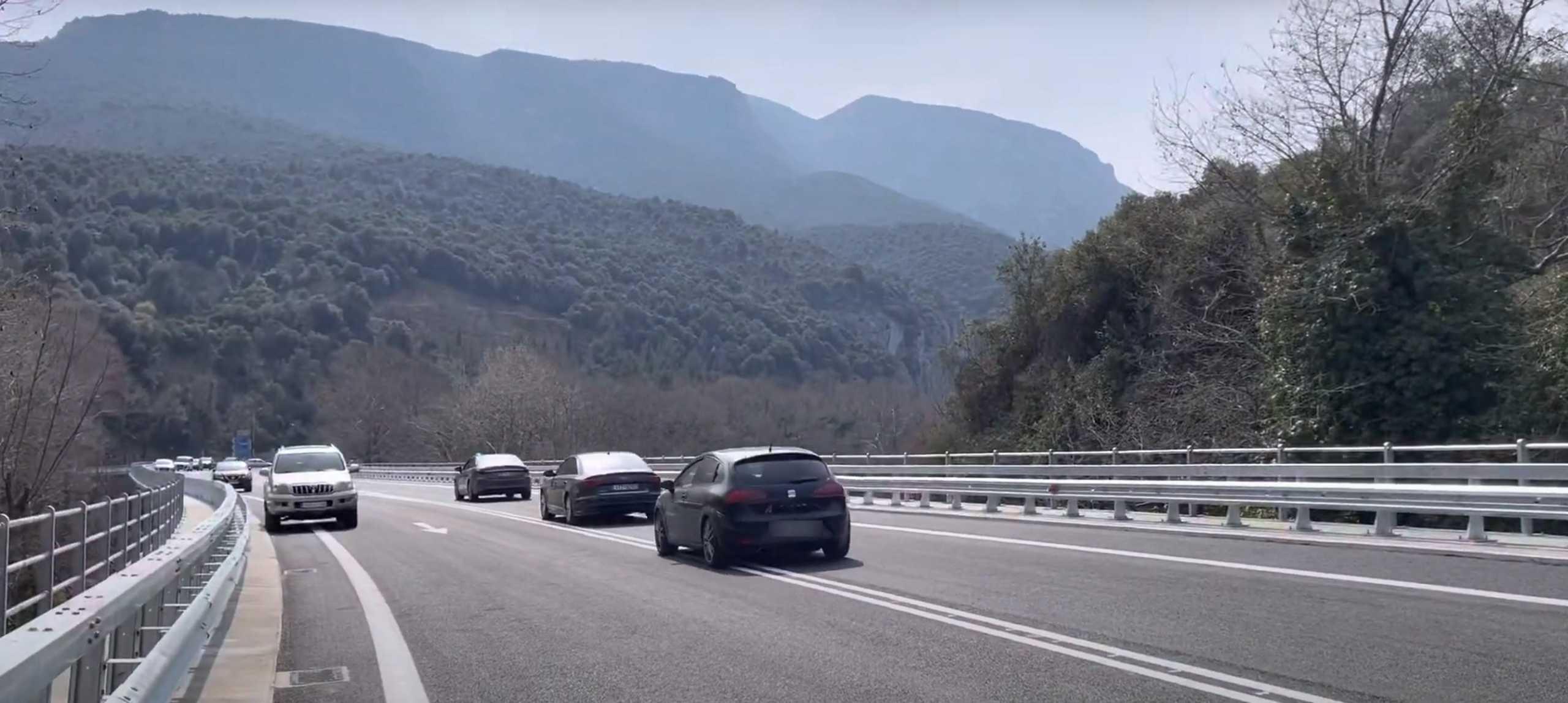 Στην κυκλοφορία η γέφυρα Τεμπών – «Συμβολικό έργο» είπε ο Καραμανλής (video)