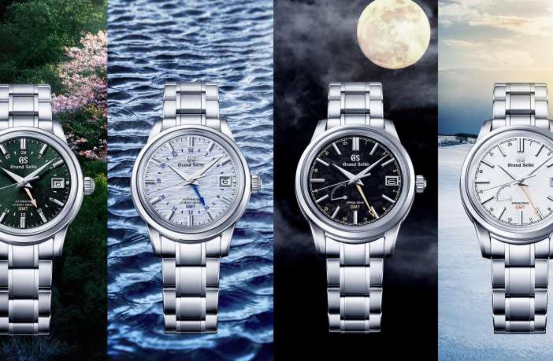 Η Grand Seiko αποκάλυψε 4 νέα ρολόγια για κάθε εποχή του χρόνου