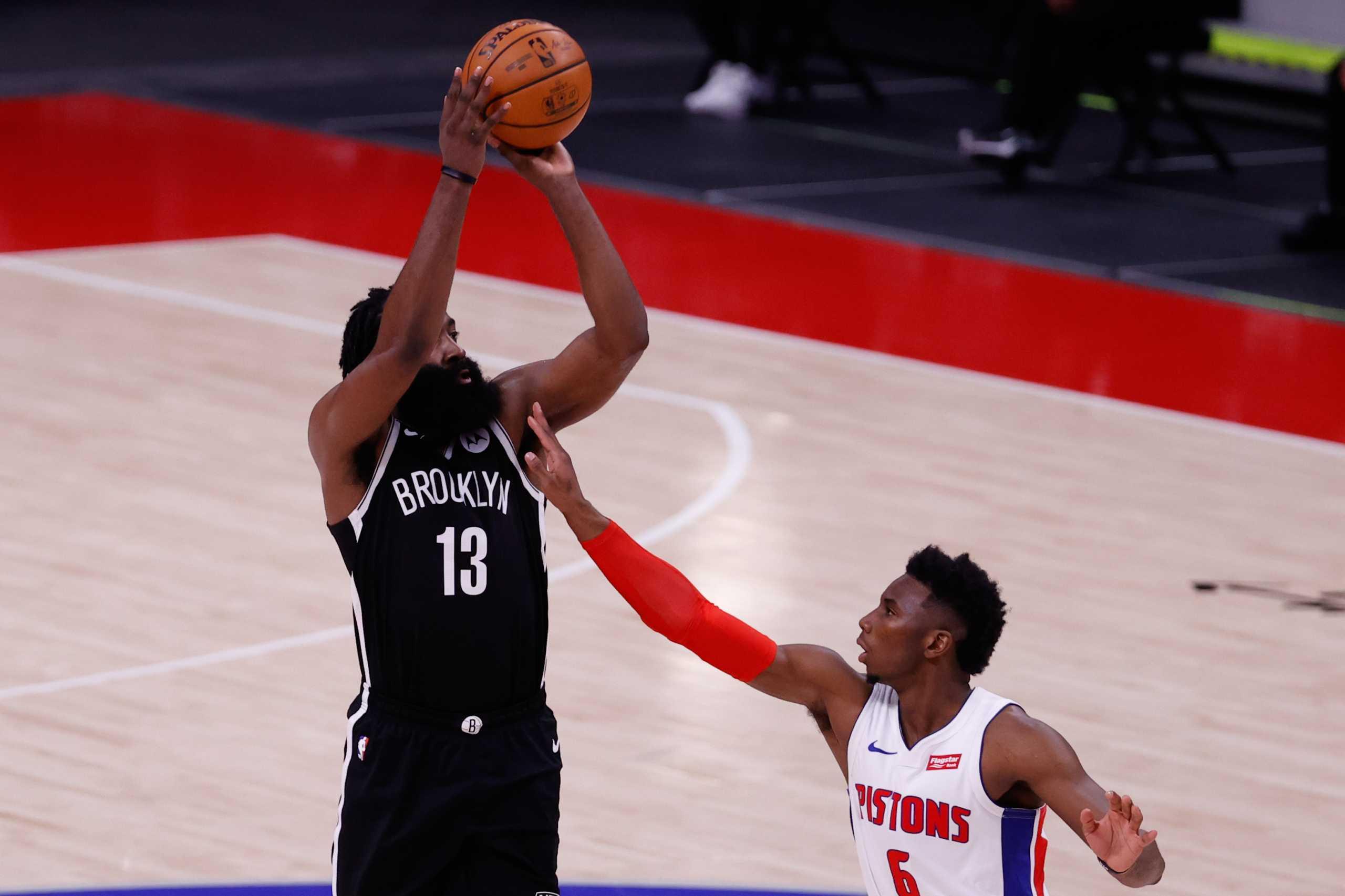 NBA: «Διαστημικός» Χάρντεν στο Ντιτρόιτ – Επιστροφή στις νίκες για τους Λέικερς (videos)