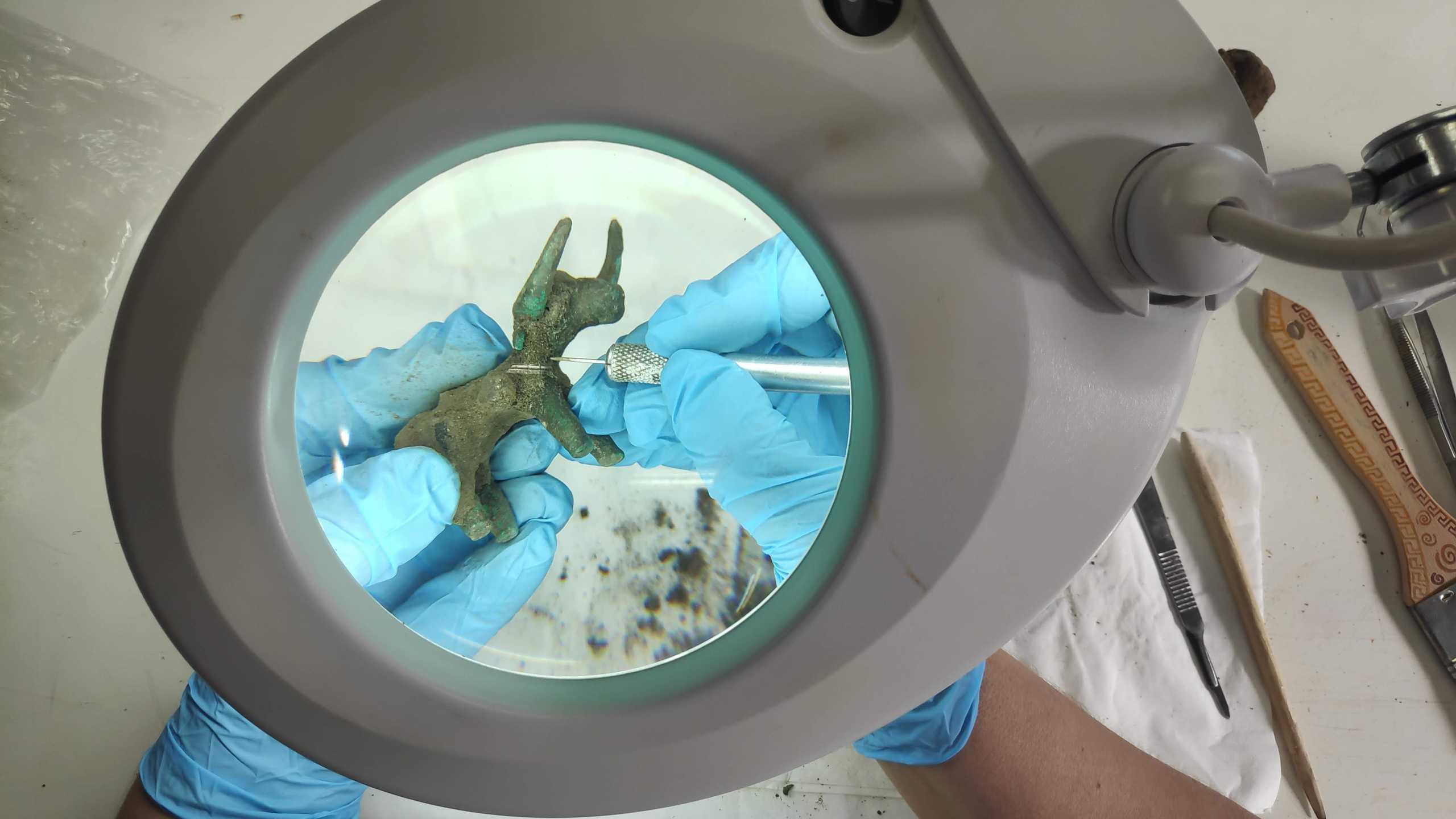Αρχαία Ολυμπία: Αυτός είναι ο εκπληκτικός χάλκινος ταύρος που αφιερώθηκε στον θεό Δία