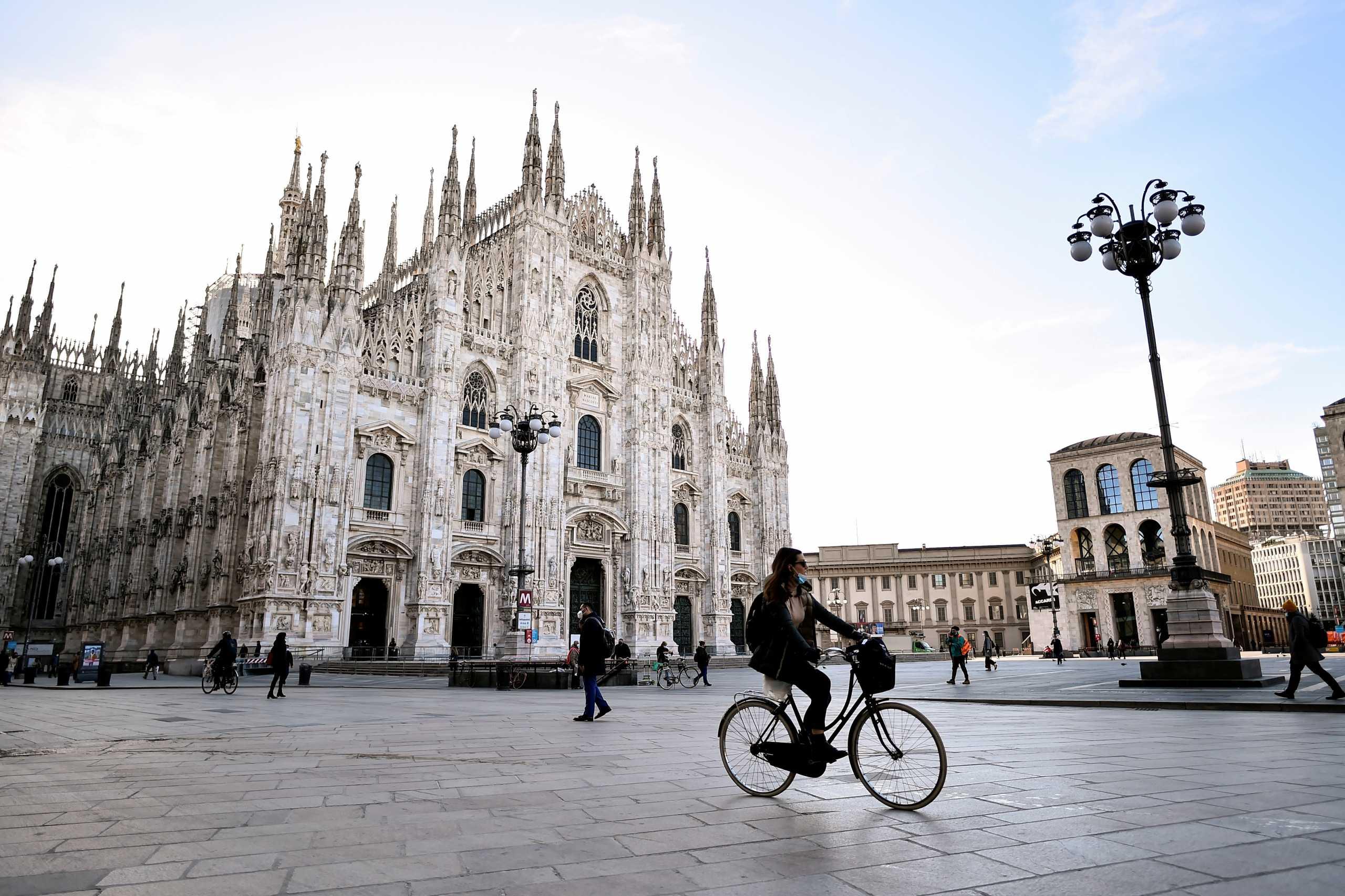 Ιταλία: 380 νεκροί και 16.974 νέα κρούσματα κορονοϊού το τελευταίο 24ωρο