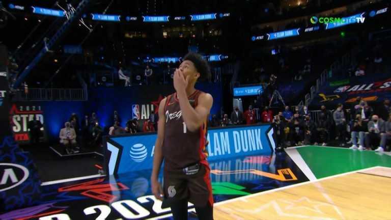 All Star Game: Ο Σάιμονς πήρε τον απογοητευτικό διαγωνισμό καρφωμάτων (video)