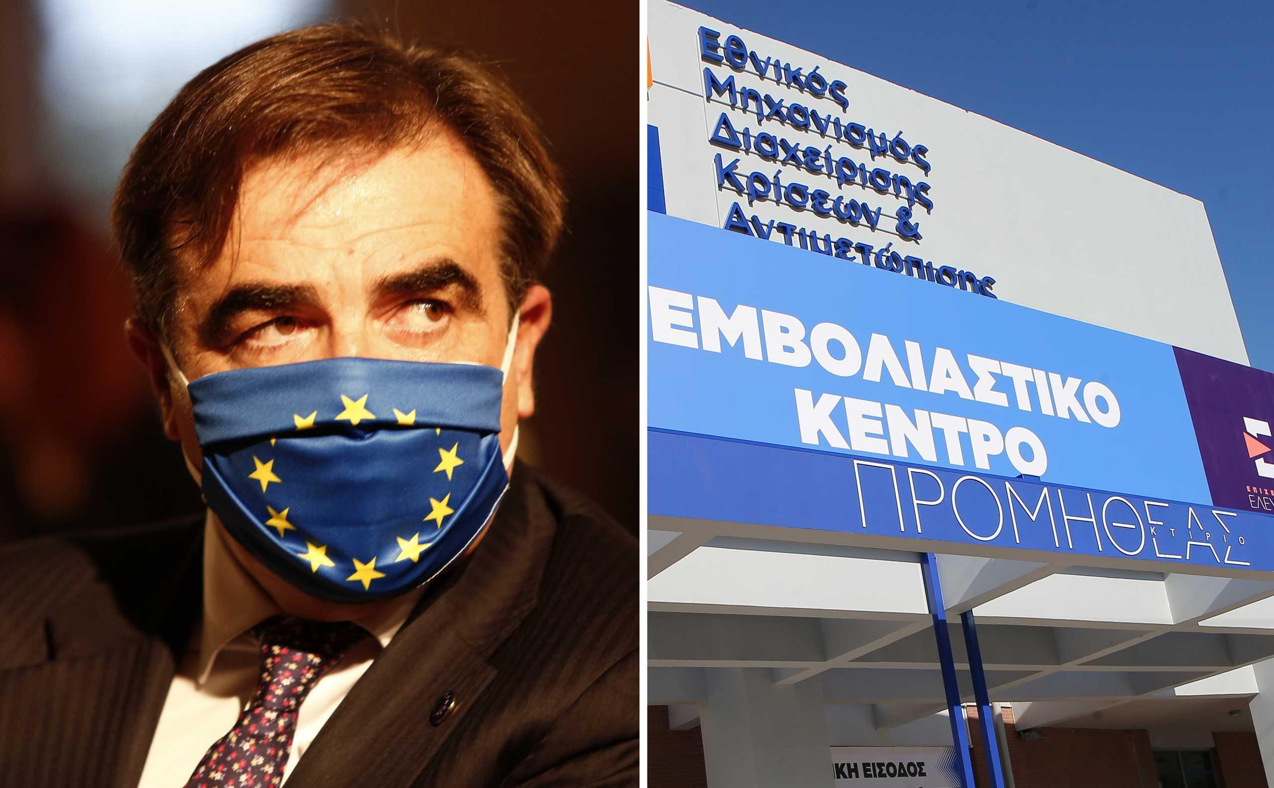 Στον «Προμηθέα» ο Μαργαρίτης Σχοινάς: «Ήξερα ότι η Ελλάδα είναι πρωταθλητής Ευρώπης στον εμβολιασμό και τώρα βλέπω γιατί»