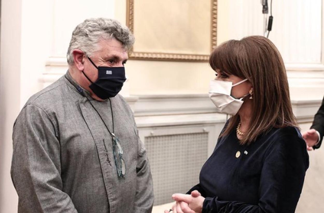 Λευτέρης Λαζάρου: Μου ζήτησαν από το Μπάκινγχαμ τις συνταγές του δείπνου στο Προεδρικό