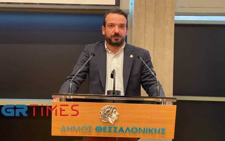 Ο Πέτρος Λεκάκης νέος πρόεδρος του Δημοτικού Συμβουλίου Θεσσαλονίκης