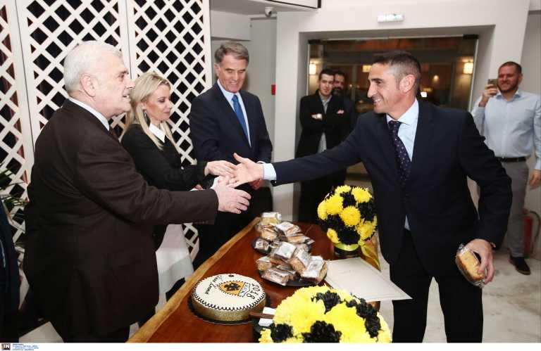 ΑΕΚ: Τα είπαν σε καλό κλίμα Μελισσανίδης και Χιμένεθ
