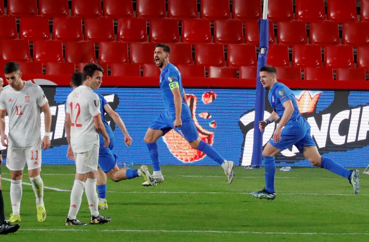 Ισπανία – Ελλάδα 1-1 ΤΕΛΙΚΟ Ξεκίνησε με βαθμό η εθνική στα προκριματικά του Μουντιάλ