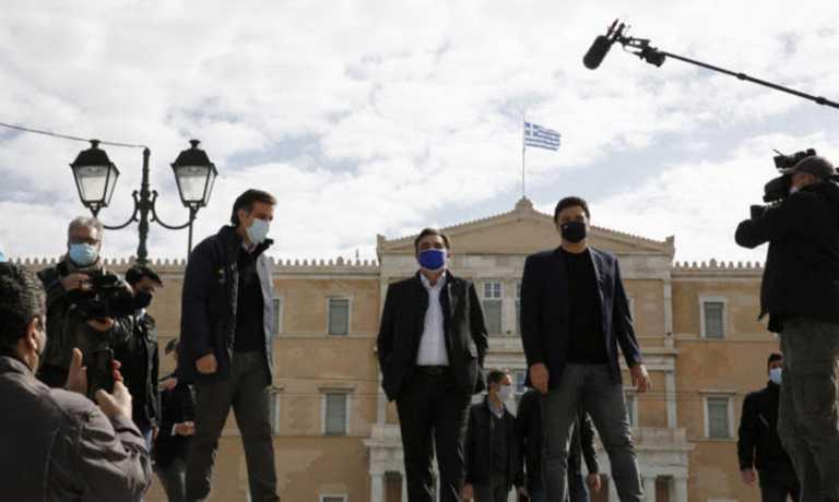Μαργαρίτης Σχοινάς στις ΚΟΜΥ Συντάγματος: «Η Ελλάδα κάνει ένα μικρό θαύμα στην αντιμετώπιση της πανδημίας»