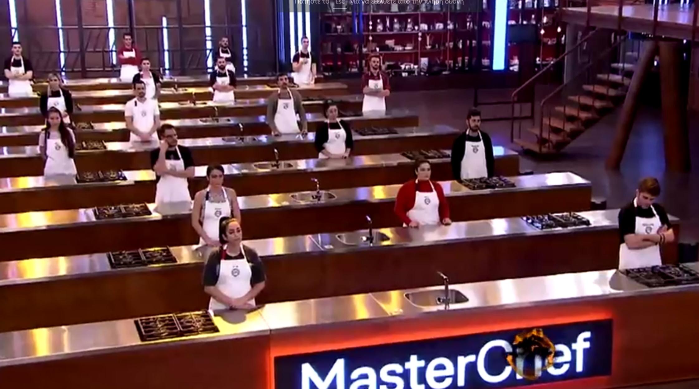 Masterchef 5: Ξεκίνησε ο πόλεμος στην κουζίνα – «Ψάξε δωμάτιο, δε σε βλέπω καλά»