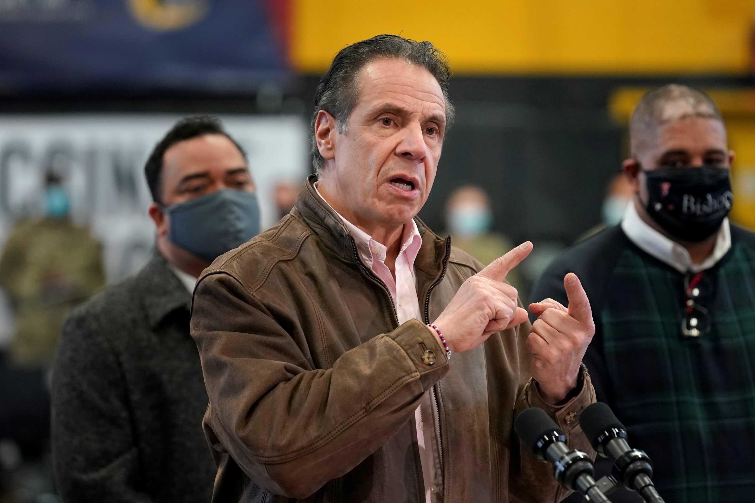 Άντριου Κουόμο:Και τρίτη καταγγελία για σεξουαλική παρενόχληση από τον κυβερνήτη της Νέας Υόρκης