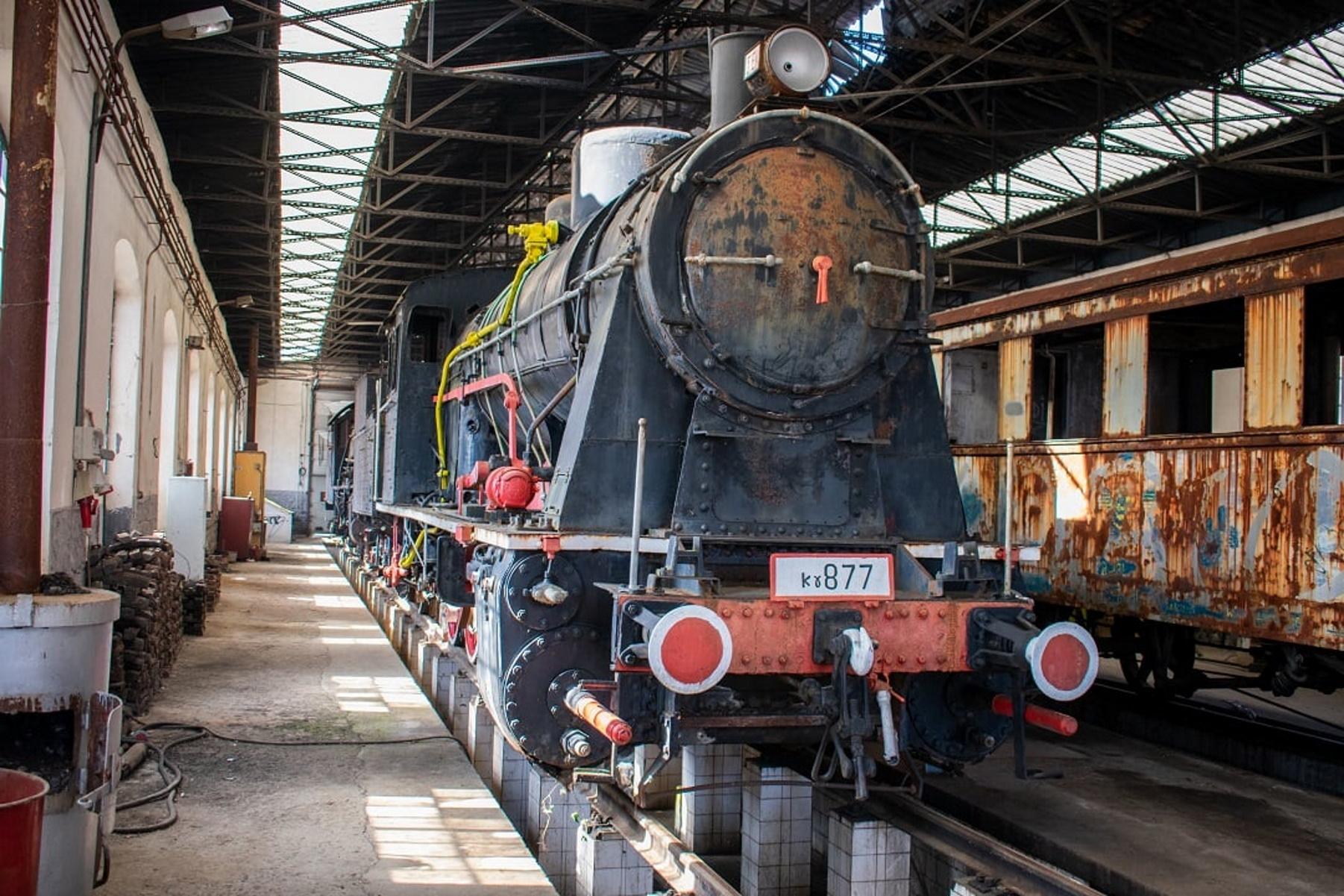 Βαγόνια του θρυλικού Οριάν Εξπρές – ατμομηχανές από το 1929 «ζωντανεύουν» στη Δράμα (pics)