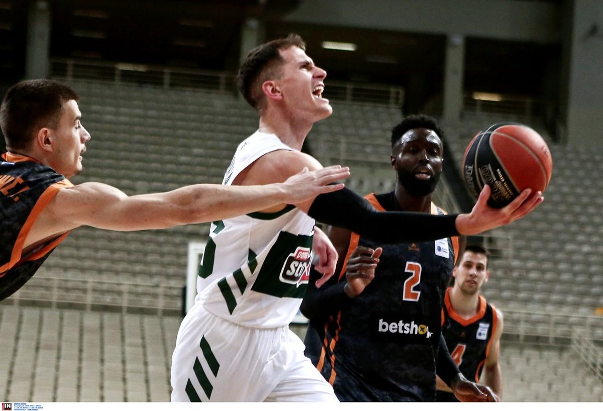 Προμηθέας – Παναθηναϊκός: Αλλαγή στον αγώνα της Basket League