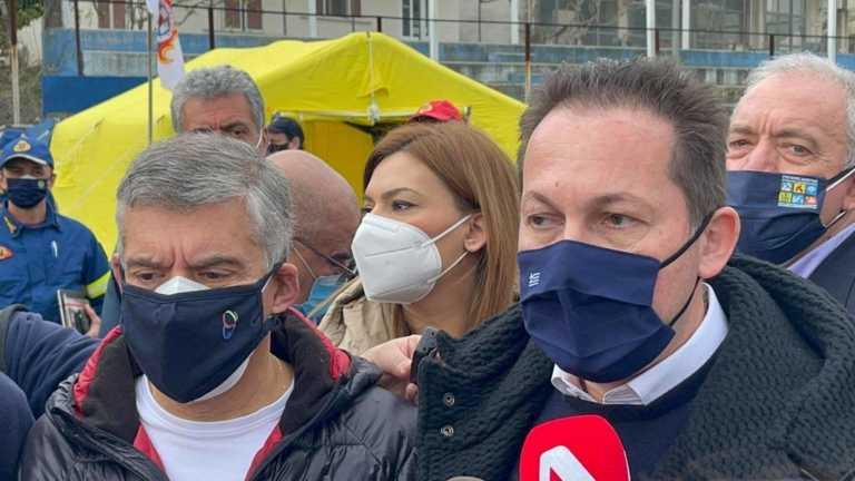 Πέτσας: Από 300.000 ευρώ στους Δήμους Ελασσόνας, Τυρνάβου, Φαρκαδόνας (video)