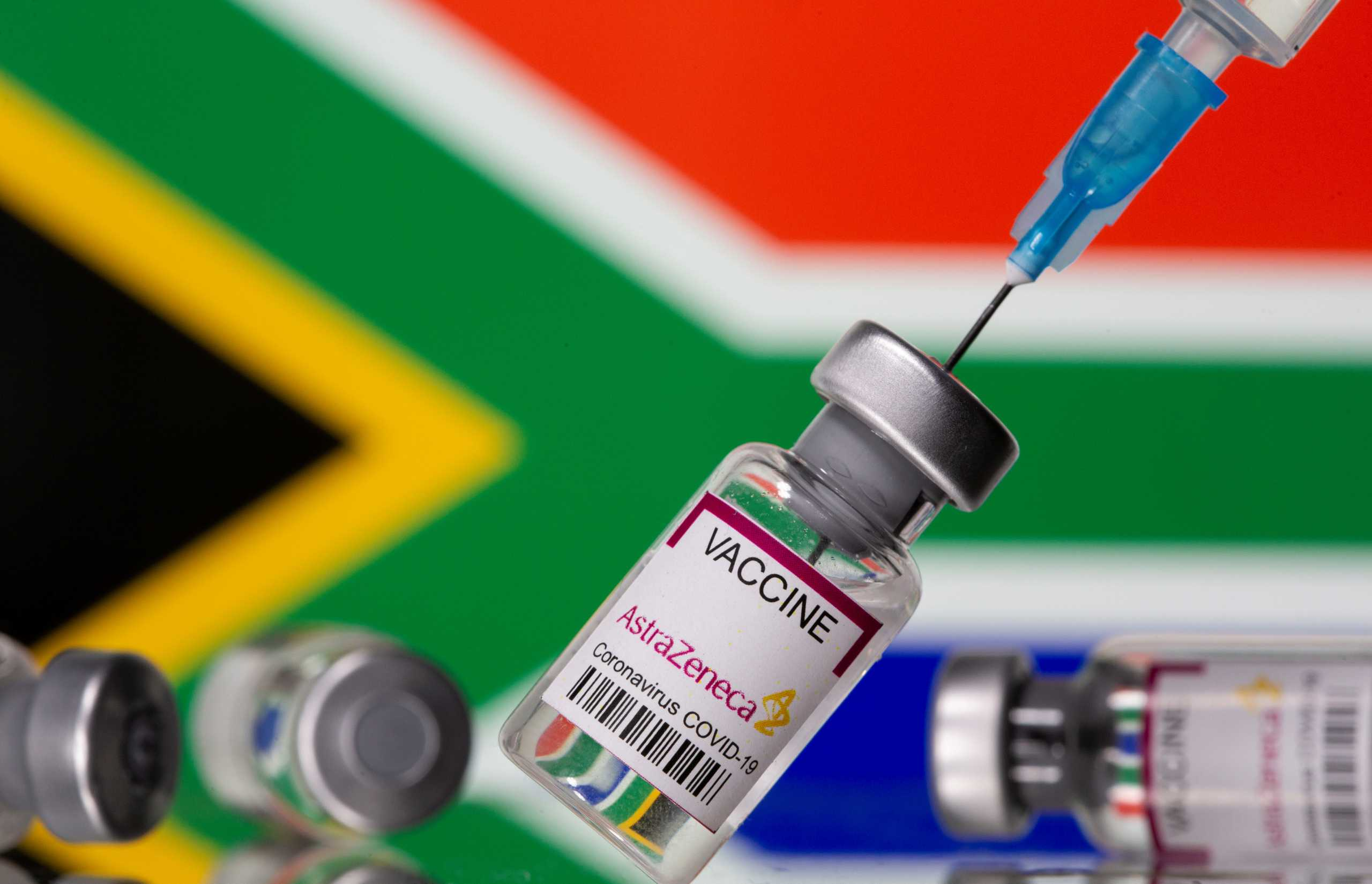 Η Ν. Αφρική πούλησε 1.000.000 δόσεις του εμβολίου της AstraZeneca σε άλλες αφρικανικές χώρες
