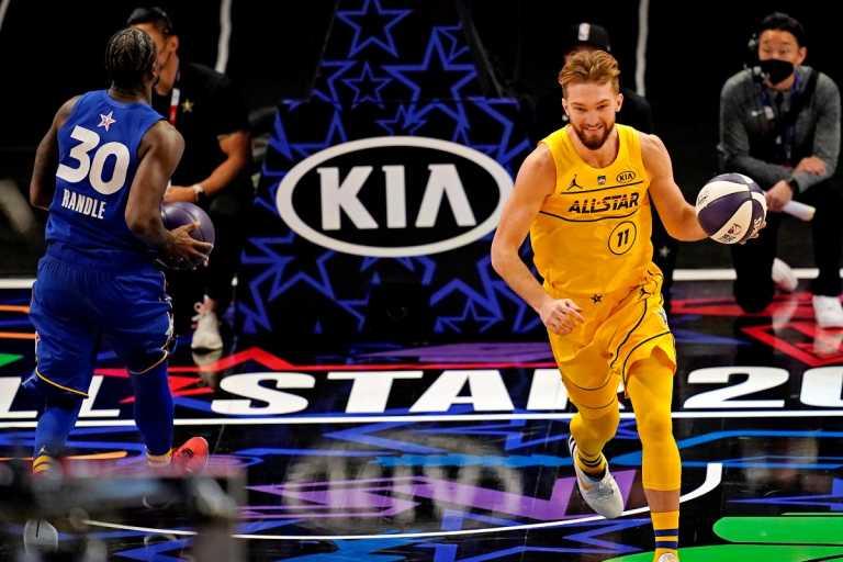 All Star Game: Ο Σαμπόνις κατέκτησε το Skills Challenge (video)