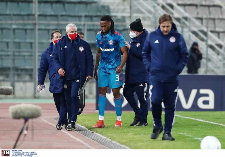 Βόλος – Ολυμπιακός: Ο Σεμέδο έγινε αναγκαστική αλλαγή με πρόβλημα στο γόνατο (video)