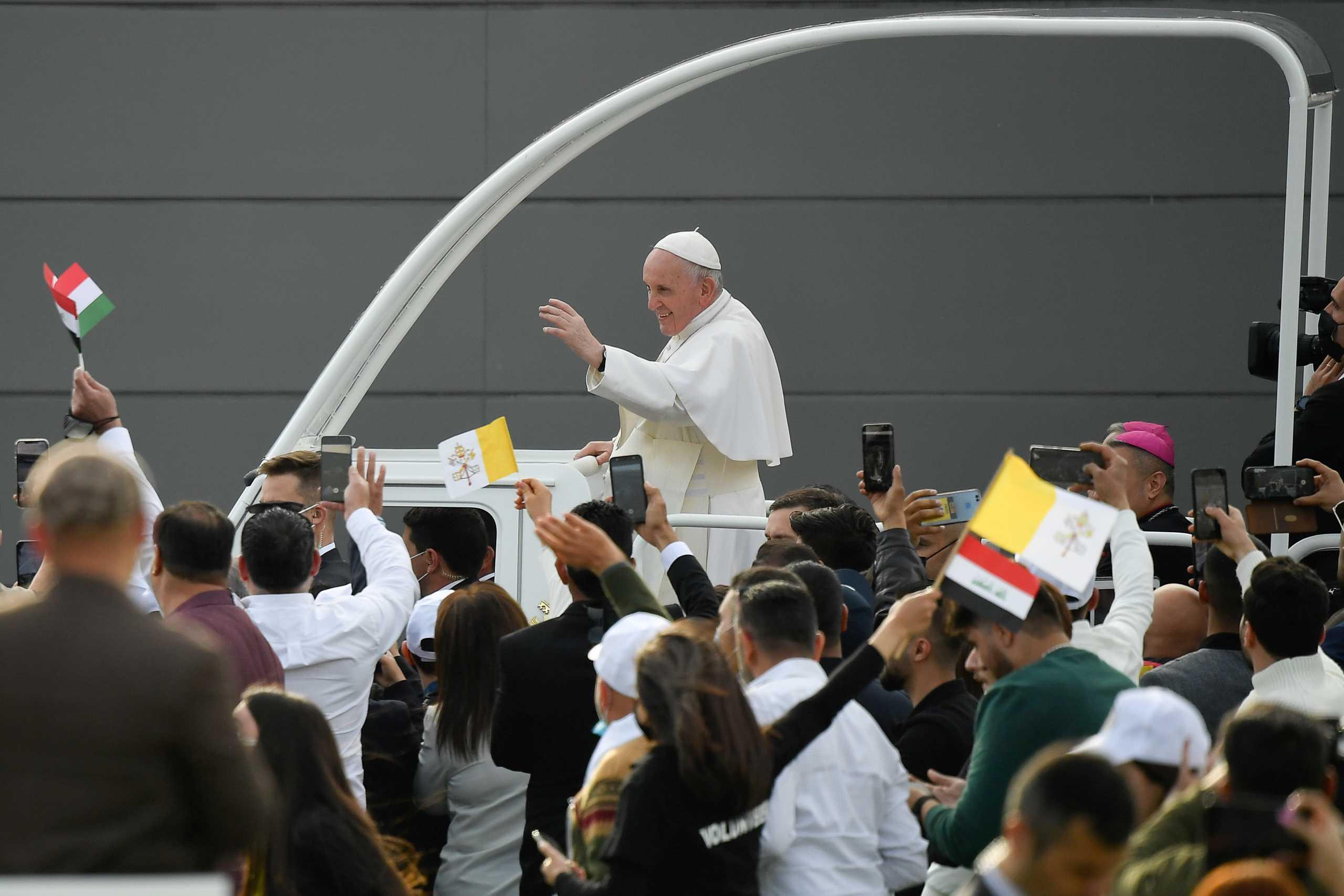 Κορονοϊός: Ρεκόρ κρουσμάτων στο Ιράκ μετά την επίσκεψη του Πάπα Φραγκίσκου
