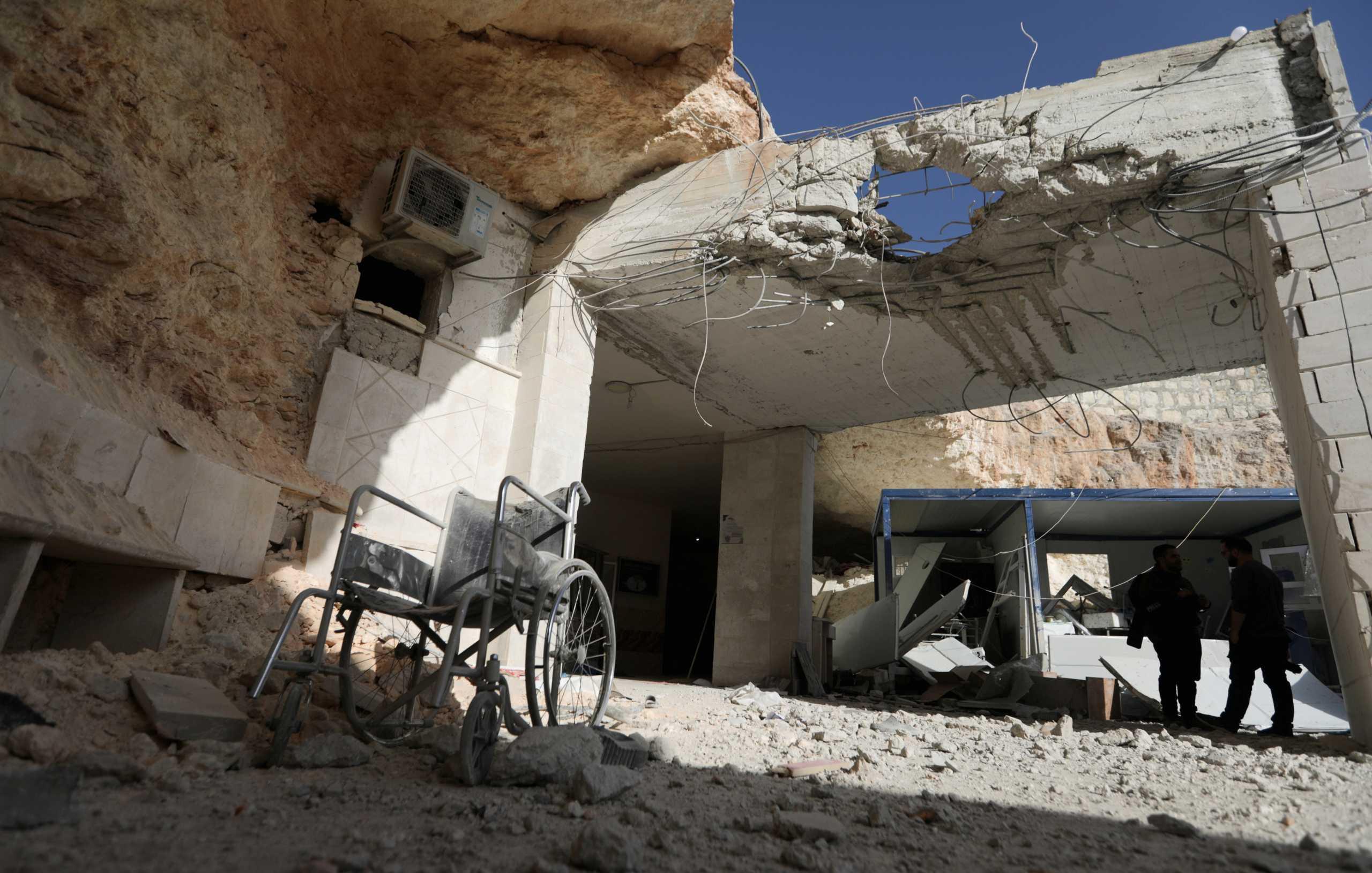 Ρωσικά μαχητικά βομβάρδισαν στόχους στη βορειοδυτική Συρία