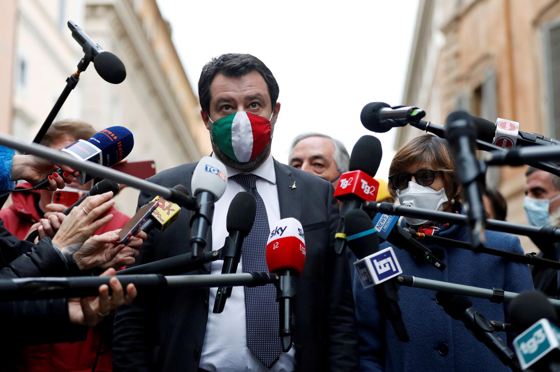 Σοκ για Ματέο Σαλβίνι – Κινδυνεύει με 15 χρόνια φυλακή