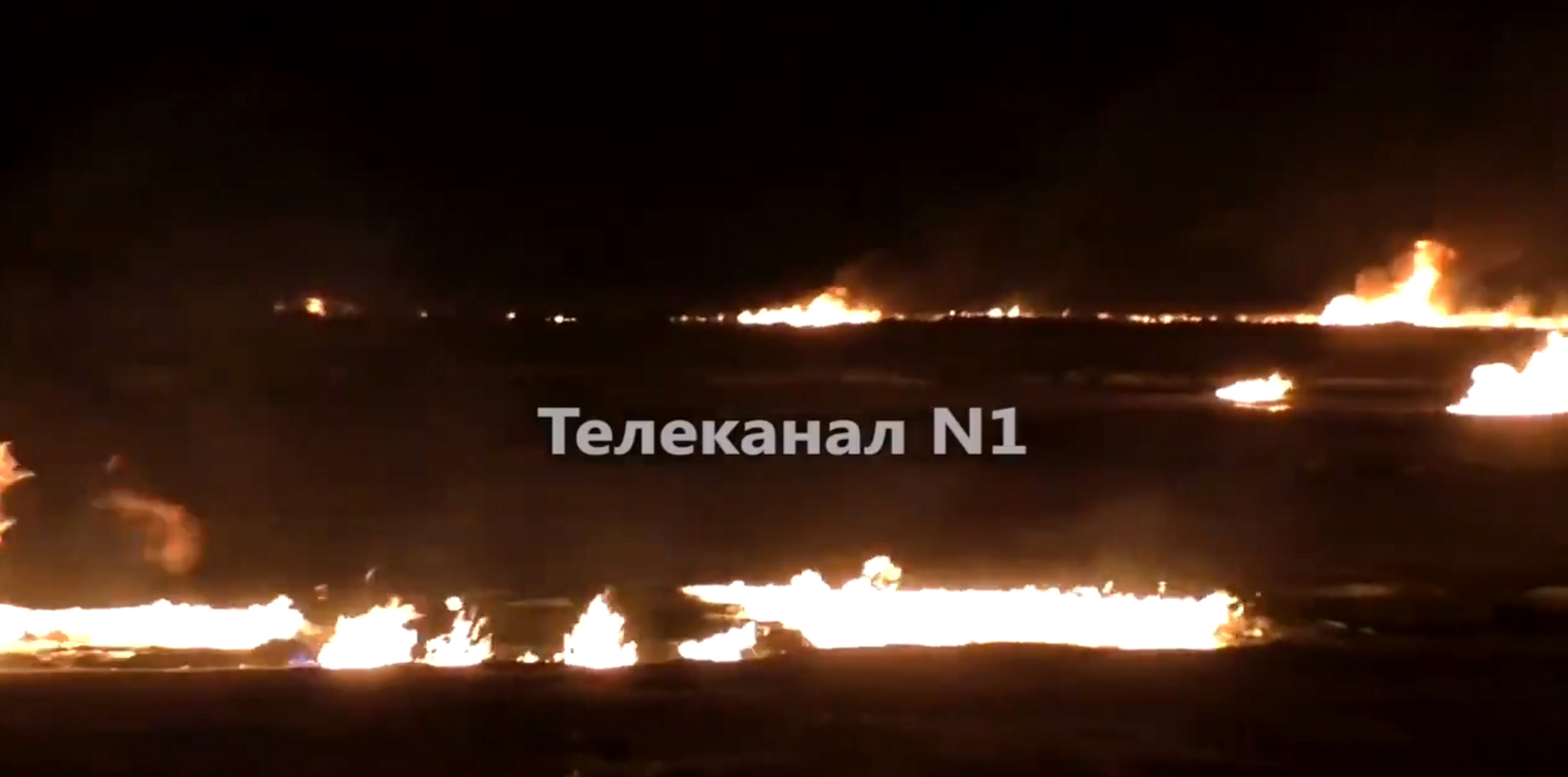 Συναγερμός στη Σιβηρία: Φόβοι για μόλυνση μετά από φωτιά σε αγωγό αερίου (video)