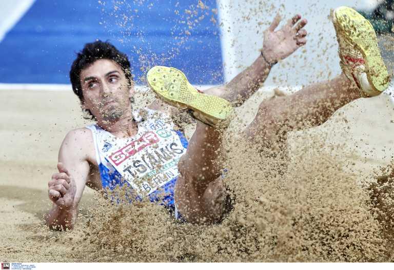 Ευρωπαϊκό κλειστού στίβου: 7ος στον τελικό του τριπλούν ο Τσιάμης – Στα ημιτελικά των 60 μ. η Σπανουδάκη