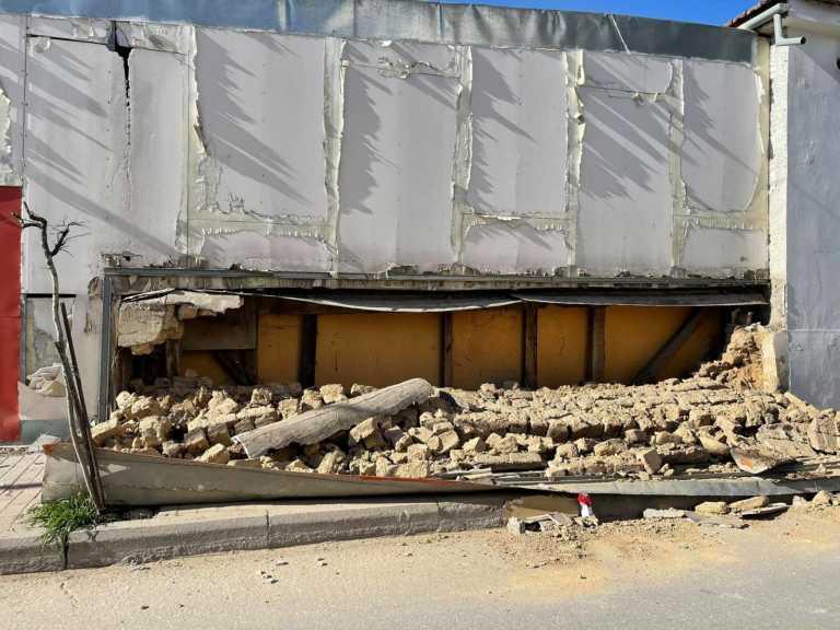 Σεισμός – Τύρναβος: Αυτοψία στις ζημιές από τον Περιφερειάρχη Θεσσαλίας