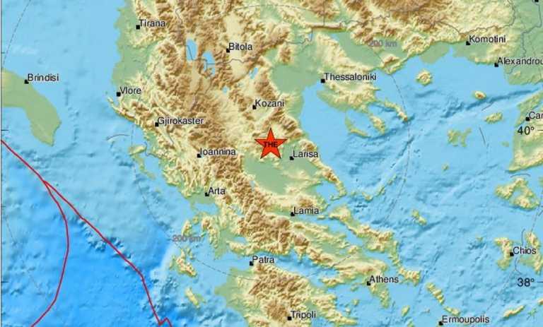 Σεισμός 4,2 ρίχτερ στην Ελασσόνα