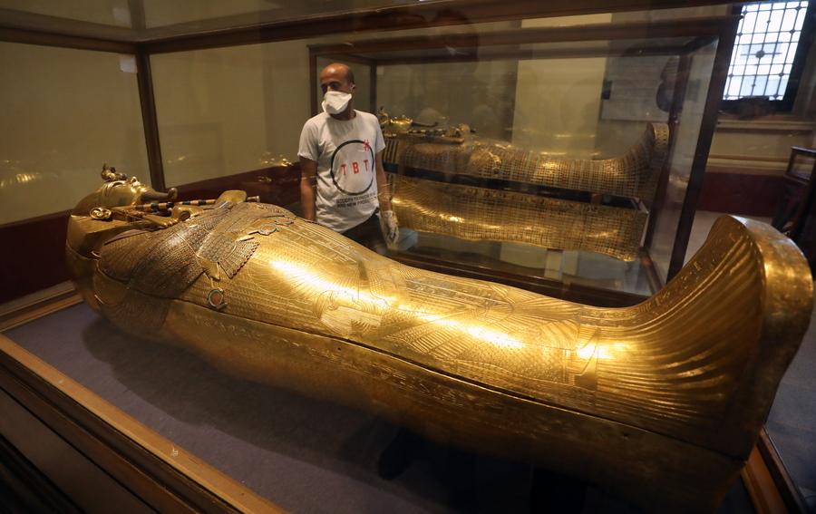 Αίγυπτος: Μυθική πομπή για τη μεταφορά 22 μουμιών βασιλέων και βασιλισσών και 17 σαρκοφάγων της Αρχαίας Αιγύπτου