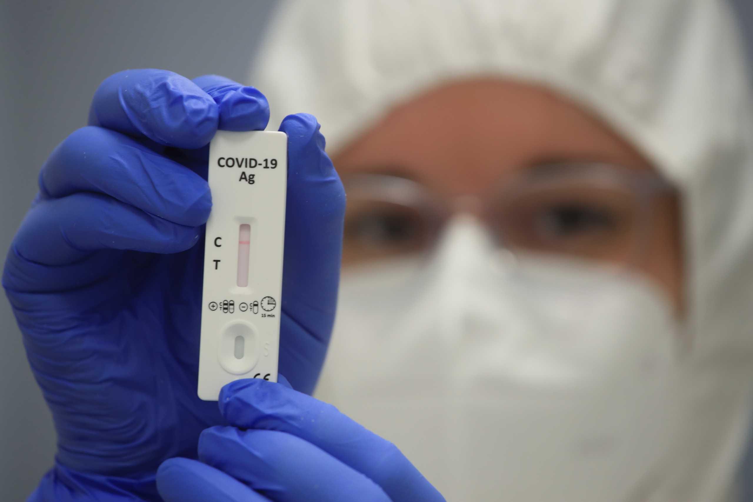 κορονοϊός εμβόλιο μάσκα self test