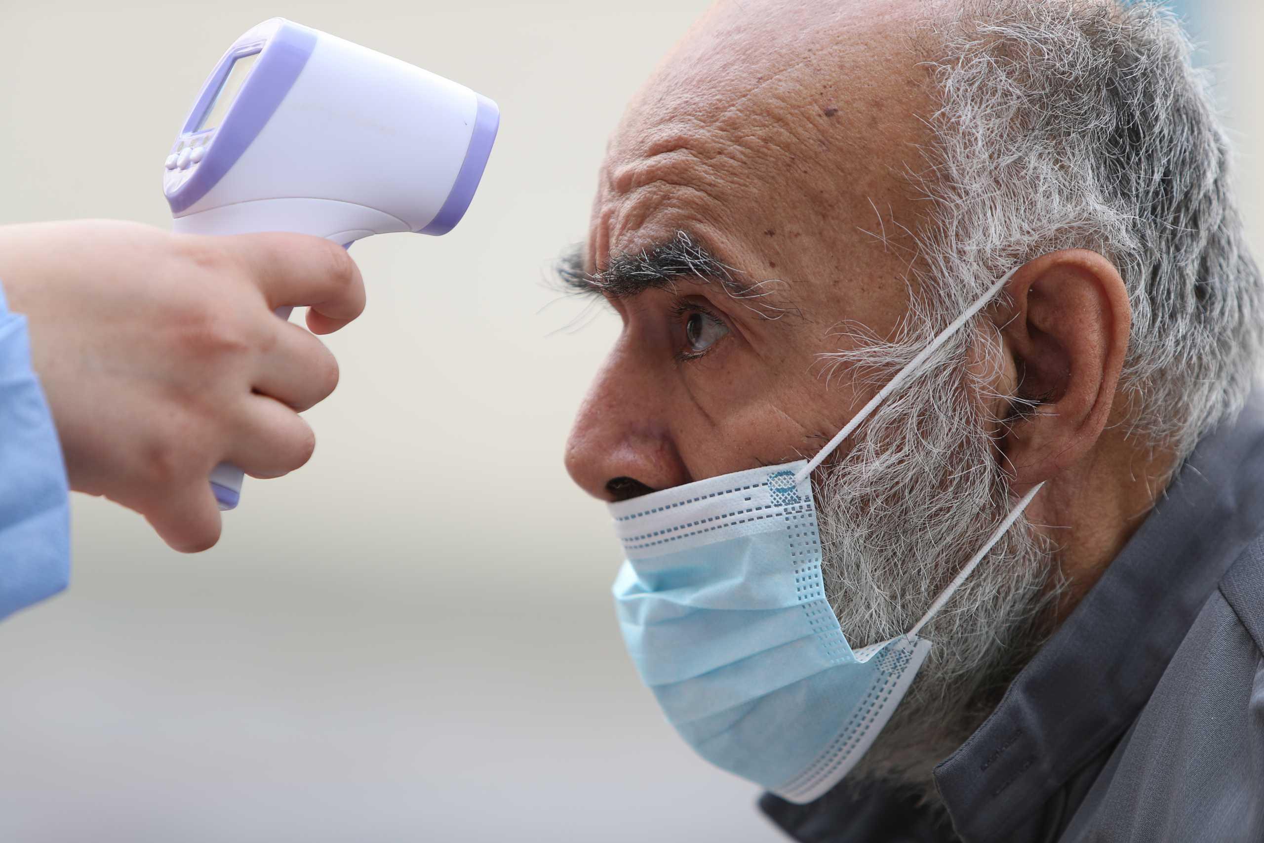 κορονοϊός εμβόλιο μάσκα Σερβία