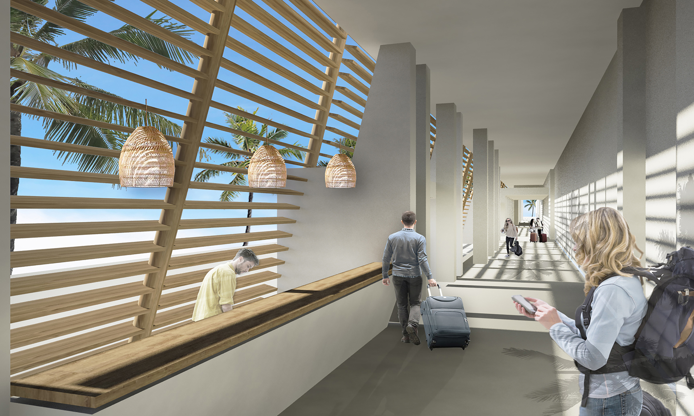 Σε καθίσματα αναμονής SATO θα κάθονται οι επισκέπτες των νέων αεροδρομίων