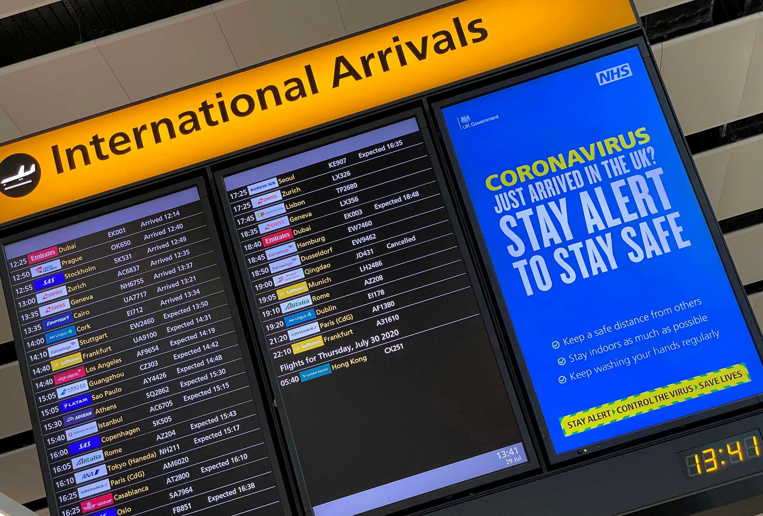 Βρετανική μελέτη «κατηγορεί» την Ελλάδα για τη διασπορά του κορονοϊού το περασμένο καλοκαίρι