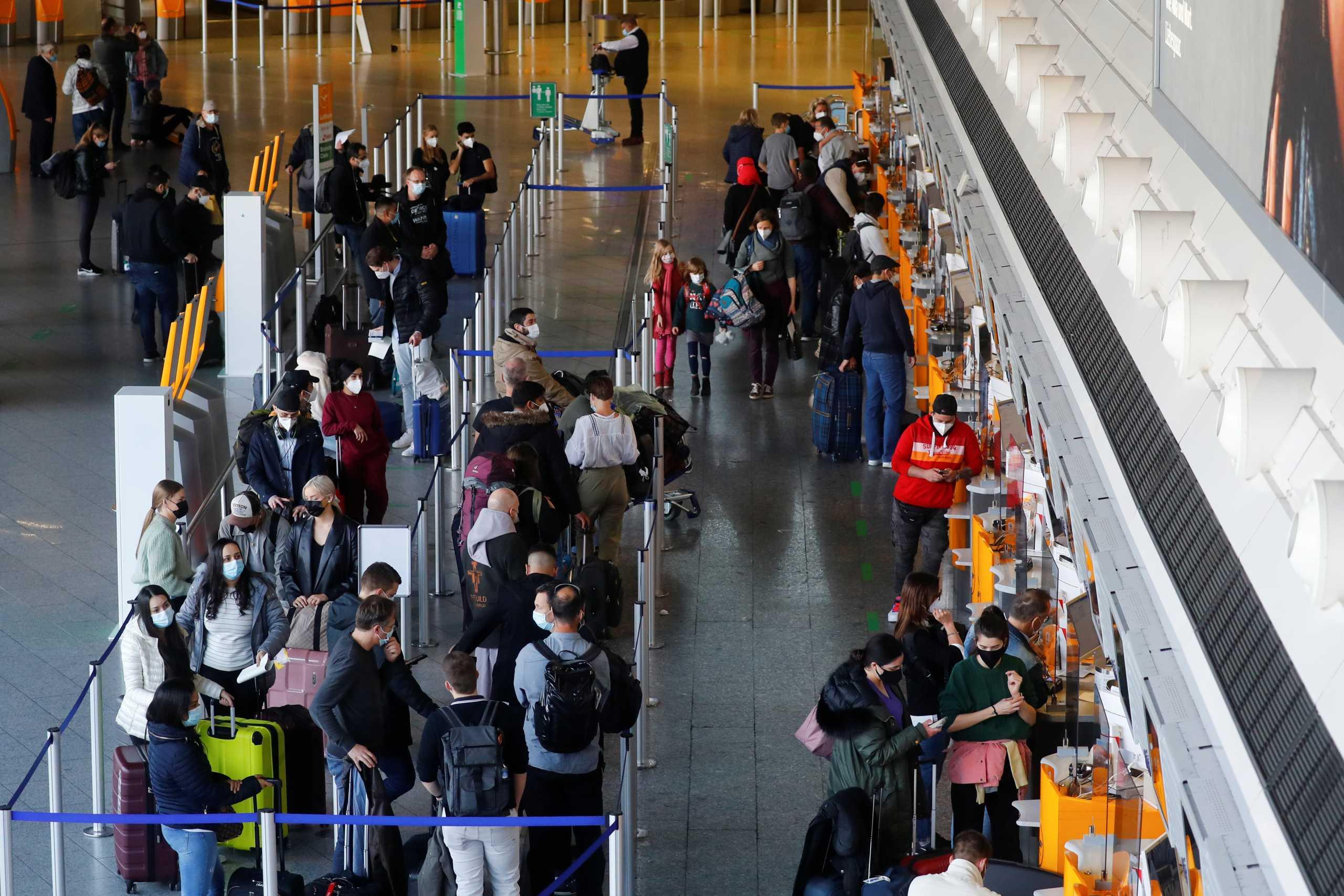 Ιταλία – Κορονοϊός: Υποχρεωτική καραντίνα πέντε ημερών στους Ευρωπαίους ταξιδιώτες