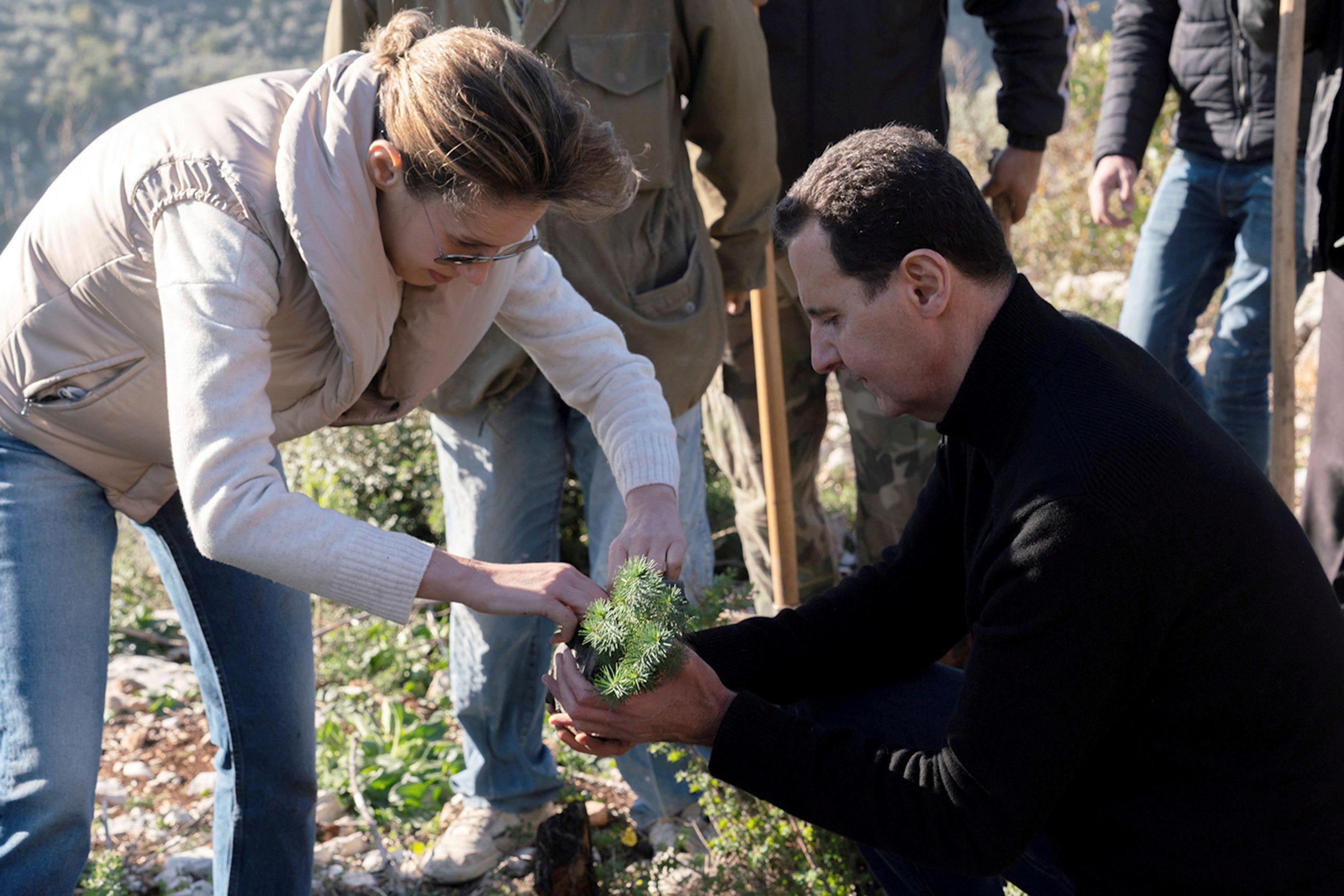 Έγιαναν οι Άσαντ – Είχαν νοσήσει από κορονοϊό