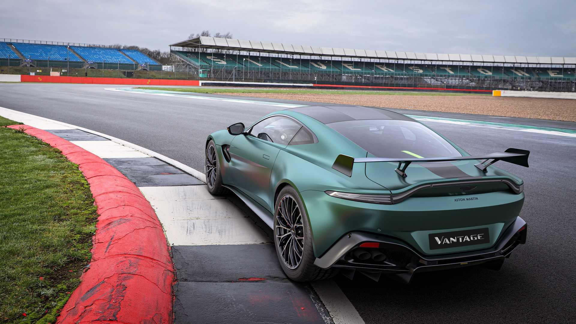 H Aston Martin γιορτάζει την επιστροφή της στην Formula 1 με μια ξεχωριστή έκδοση της Vantage (pics)