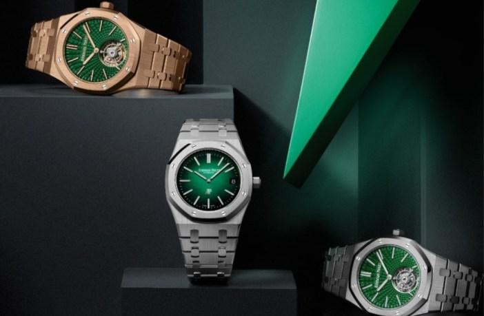 Τα 5 νέα πράσινα ρολόγια της Audemars Piguet είναι κάτι παραπάνω από όμορφα!