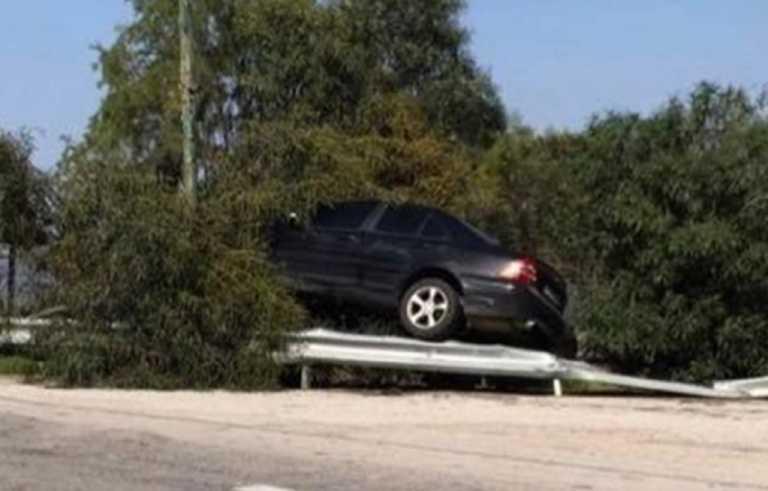 Κρήτη: Δείτε τι σημαίνει τυχερός μέσα στην ατυχία του – Ο οδηγός που είχε Άγιο στον ΒΟΑΚ (pics)