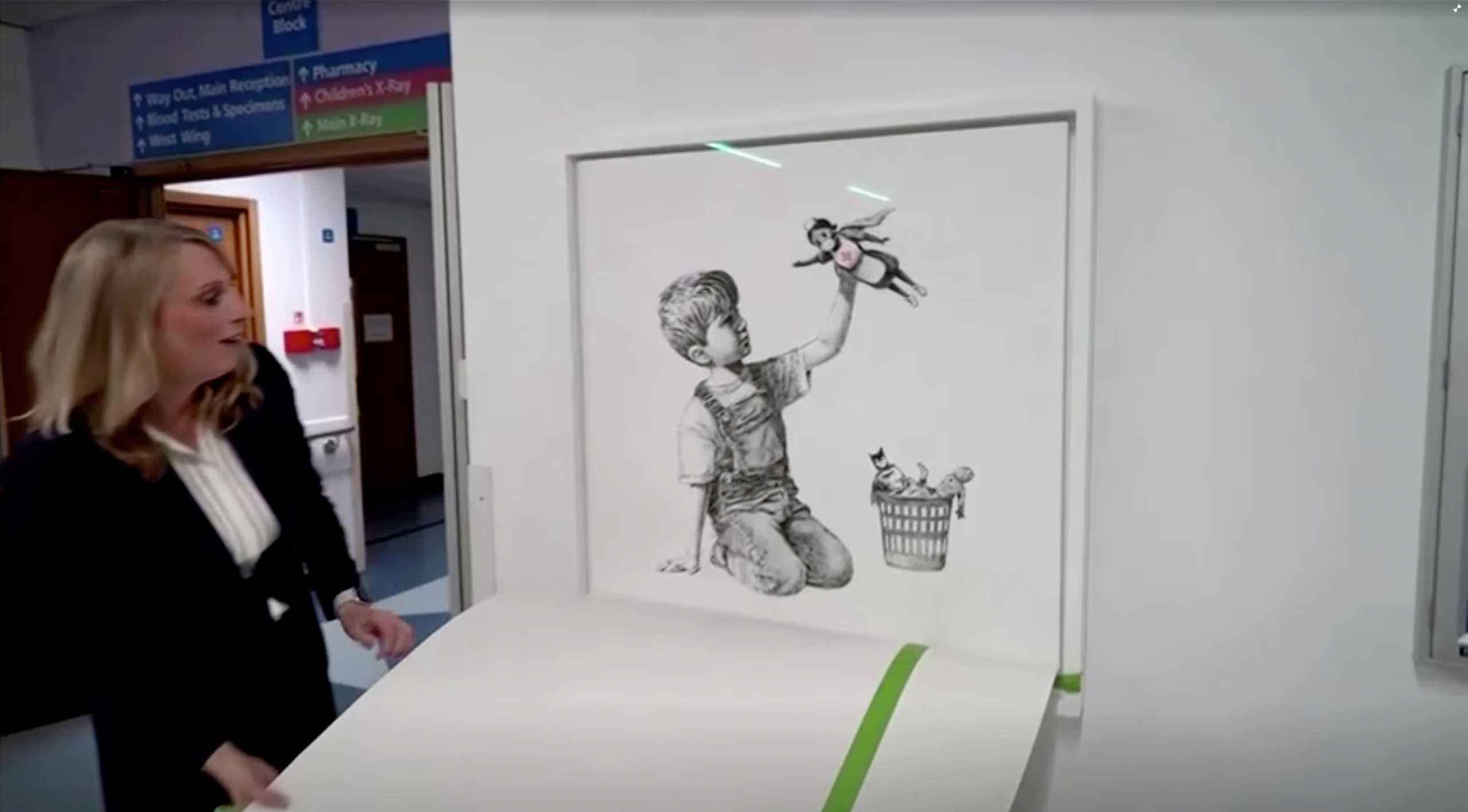 Τιμή ρεκόρ για τον πίνακα του Banksy φόρο τιμής στους νοσηλευτές