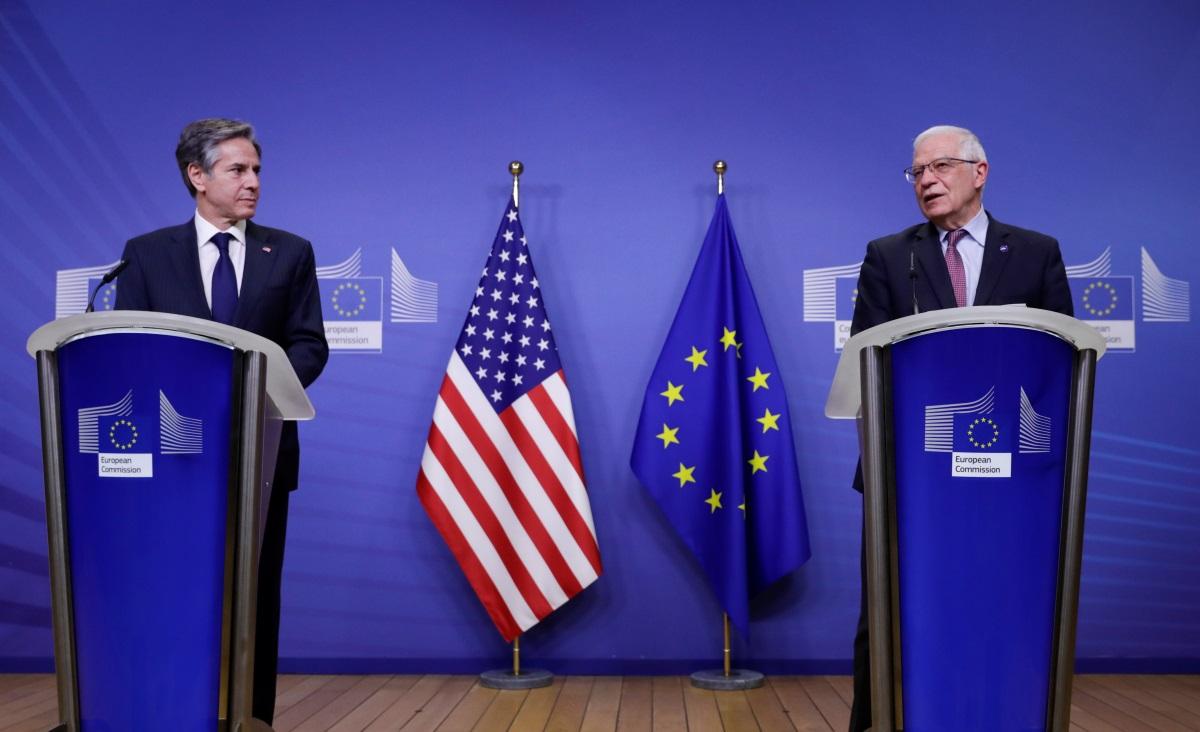 «Μήνυμα» Μπλίνκεν: Θέλει αποκατάσταση και εκσυγχρονισμό των σχέσεων ΗΠΑ – ΕΕ