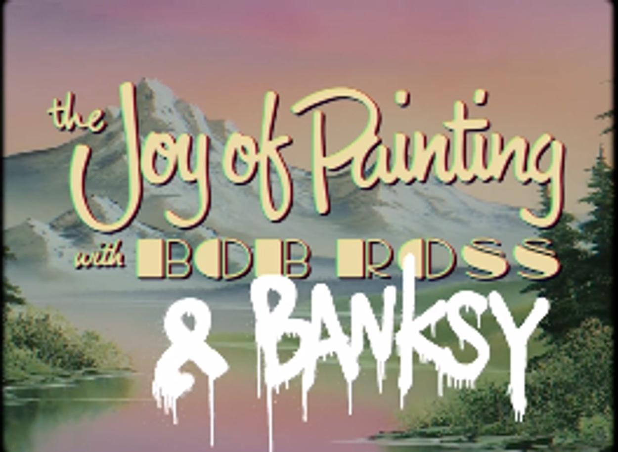O Banksy έγινε Bob Ross! (video)