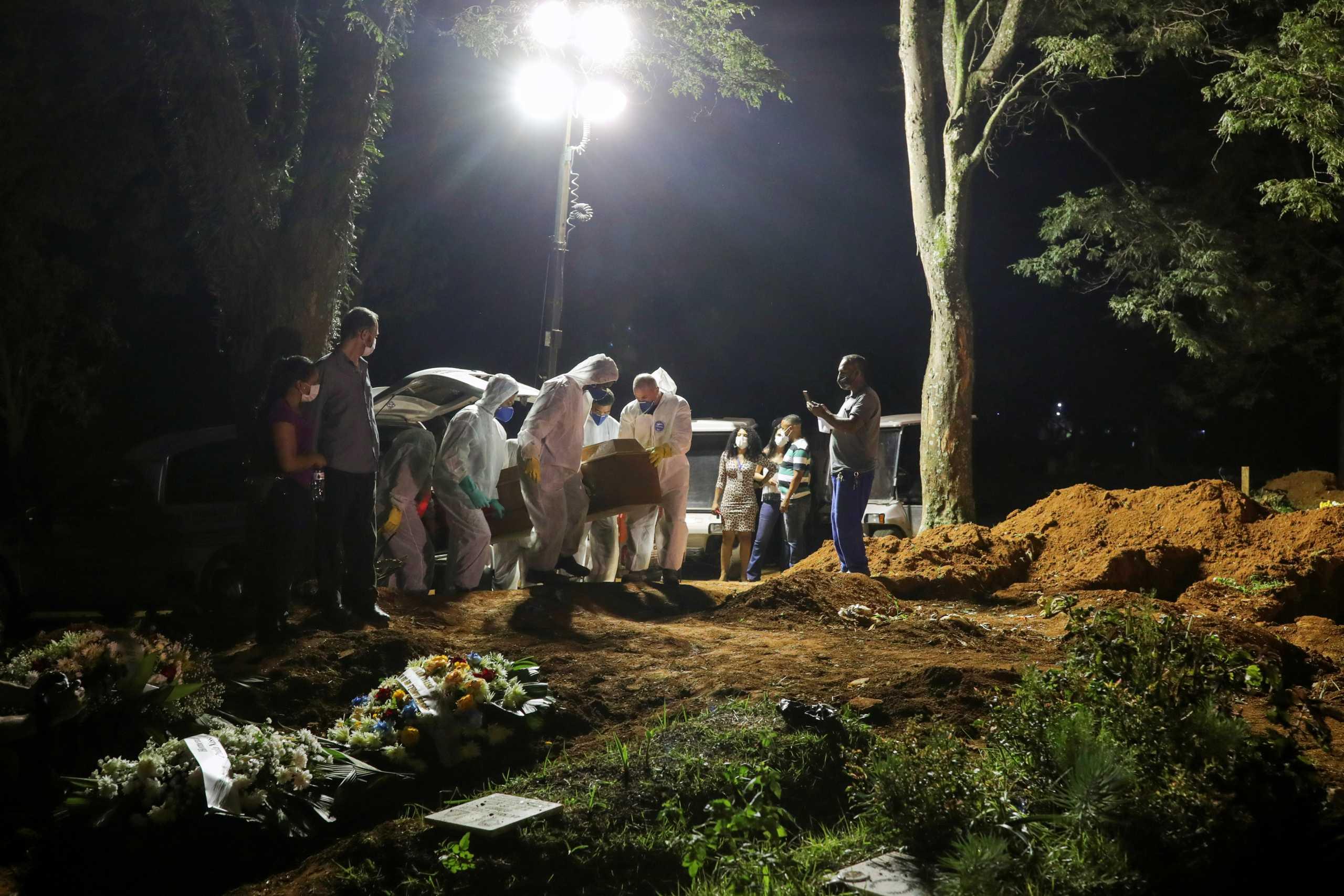 Κορονοϊός – Νέο αρνητικό ρεκόρ στη Βραζιλία: 100.000 κρούσματα σε μια μέρα