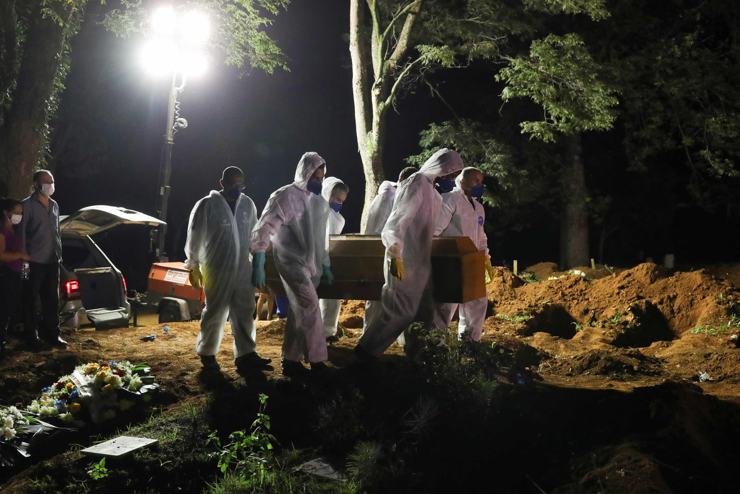 Βραζιλία – κορονοϊός: Προβλέψεις σοκ για παραπάνω από 3.000 νεκρούς την ημέρα