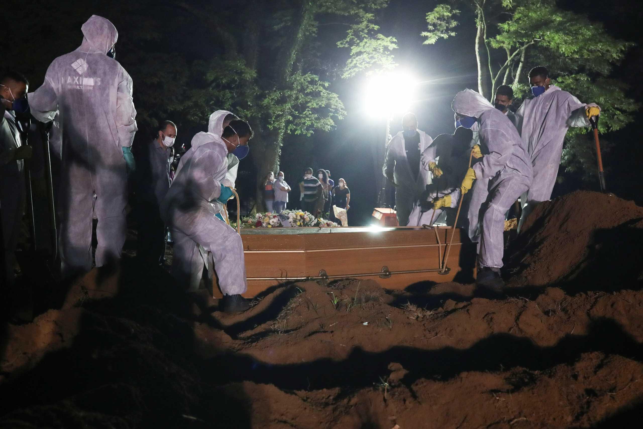 Βραζιλία – κορονοϊός: Πάνω από 3.000 νεκροί για δεύτερη συνεχόμενη ημέρα