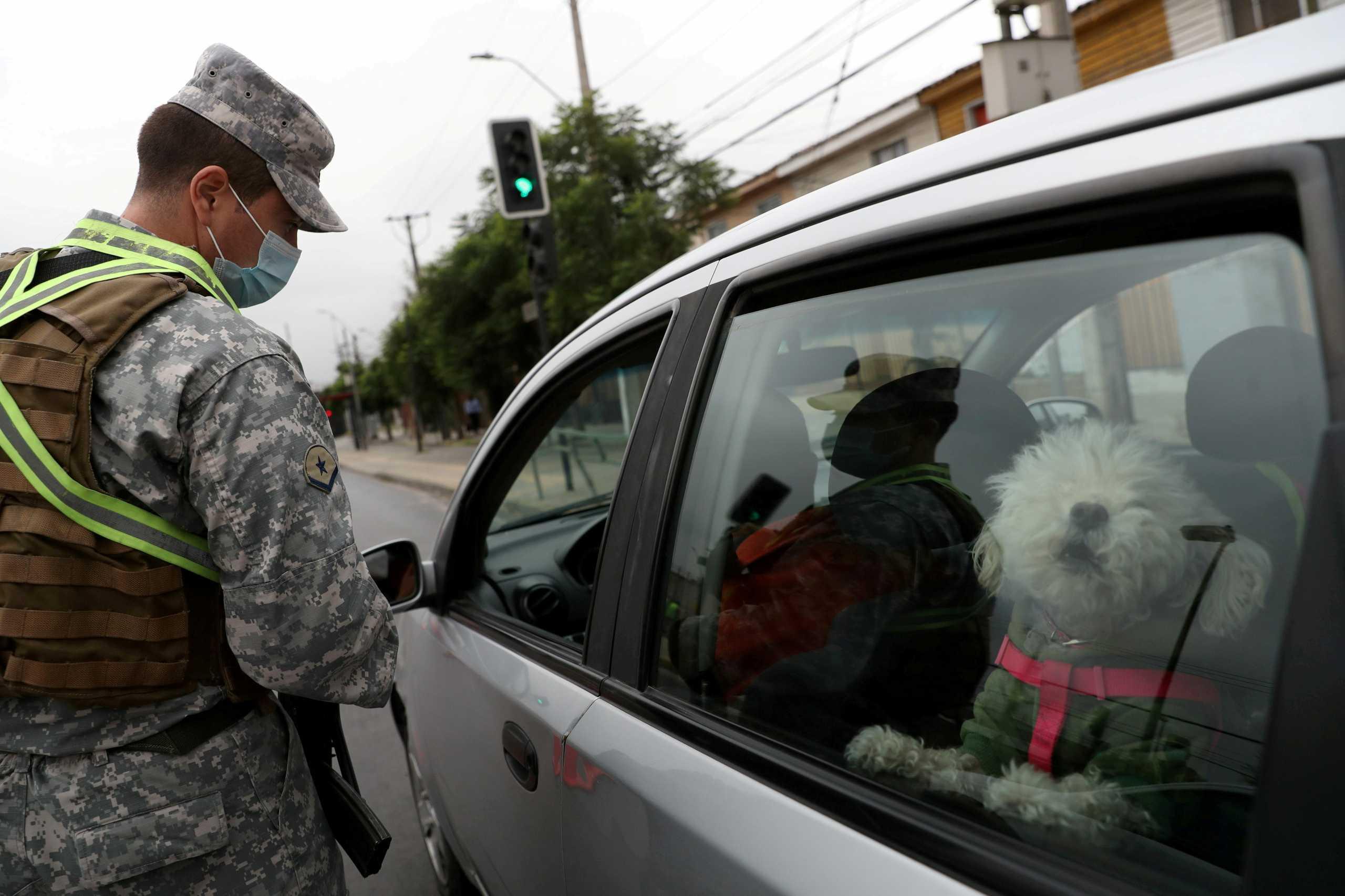 Χιλή: Lockdown και στο Σαντιάγο