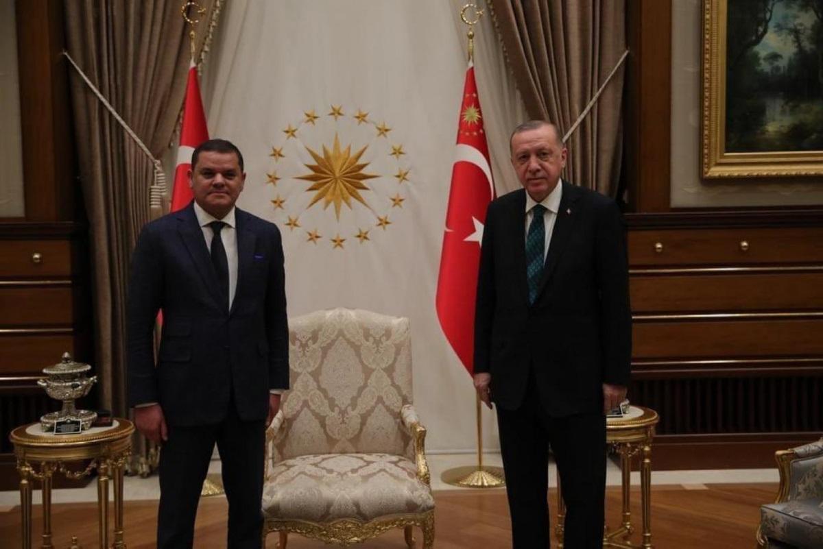 Μυστική επίσκεψη του προσωρινού πρωθυπουργού της Λιβύης Ντμπέιμπα στην Τουρκία – Τι είπε με τον Ερντογάν