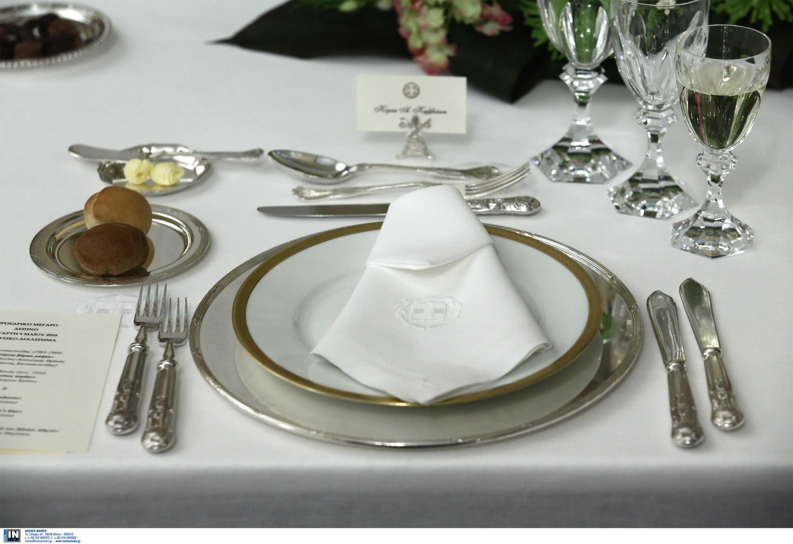 Δείπνο για Βασιλείς στο Προεδρικό στις 24 Μαρτίου δια χειρός Λευτέρη Λαζάρου