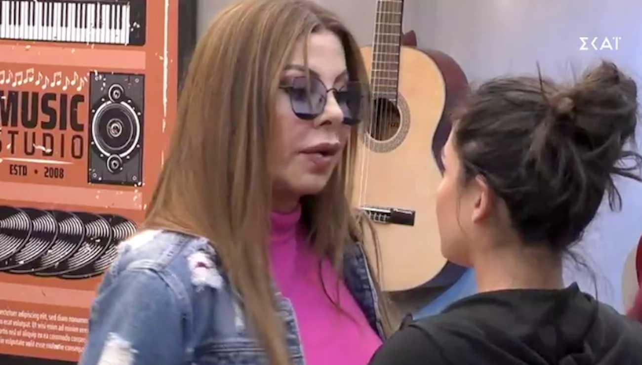 House of fame: Η Άντζελα Δημητρίου μπήκε στην ακαδημία και προκάλεσε την έκπληξη της διαγωνιζόμενης