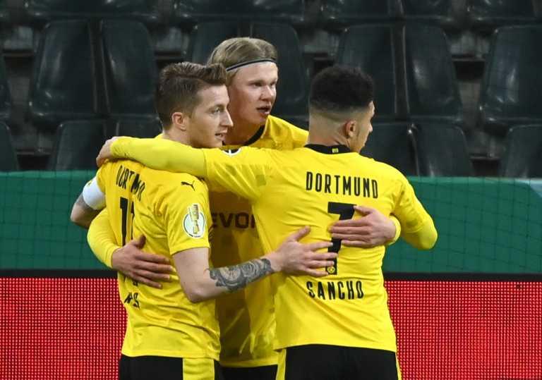 Κύπελλο Γερμανίας: Στα ημιτελικά η Ντόρτμουντ, νίκησε με Σάντσο την Γκλάντμπαχ (video)